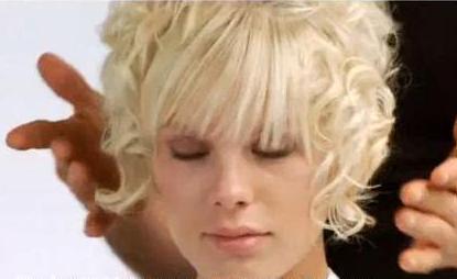 Пышная прическа для коротких волос