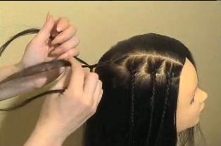 4идеальных способа, как легко сделать бантик из волос за (Картинки)