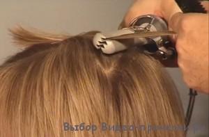 Как сделать объем у корней волос утюжком на короткие волосы