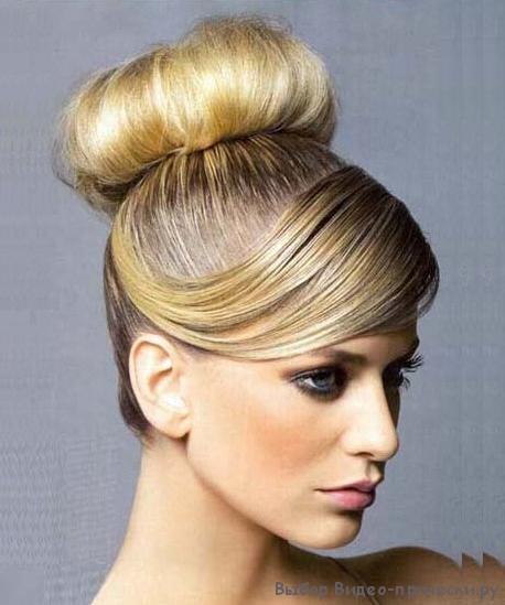 Пучки из волос фото