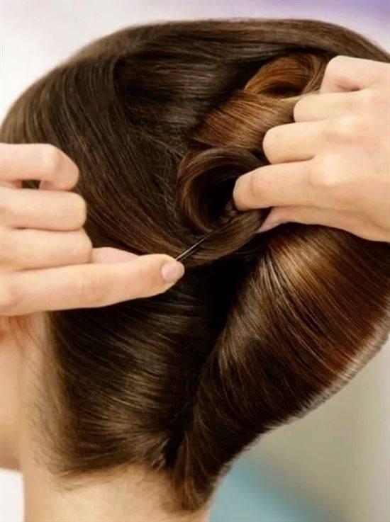 эффектен ракушка из волос картинки это