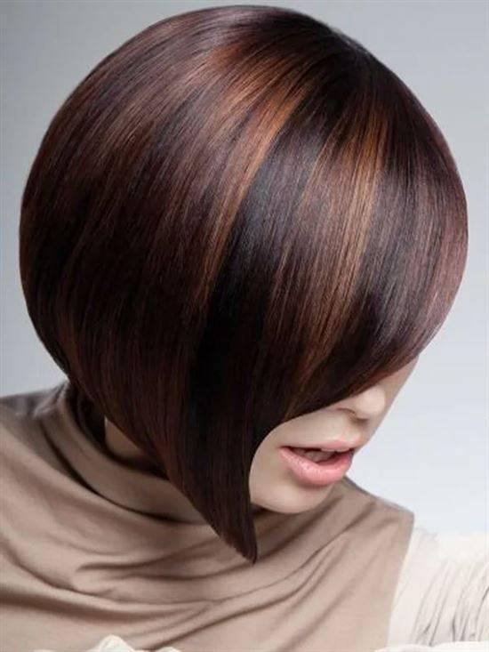 тонирование волос фото на темные короткие волосы сумка
