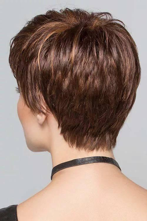 Короткая стрижка женская для тонких волос фото ноября