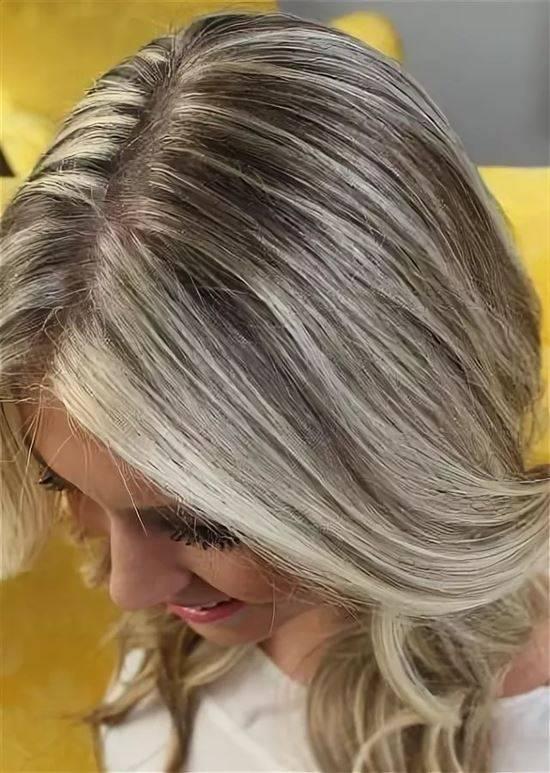мелирование на белые волосы смотреть фото избежать этого