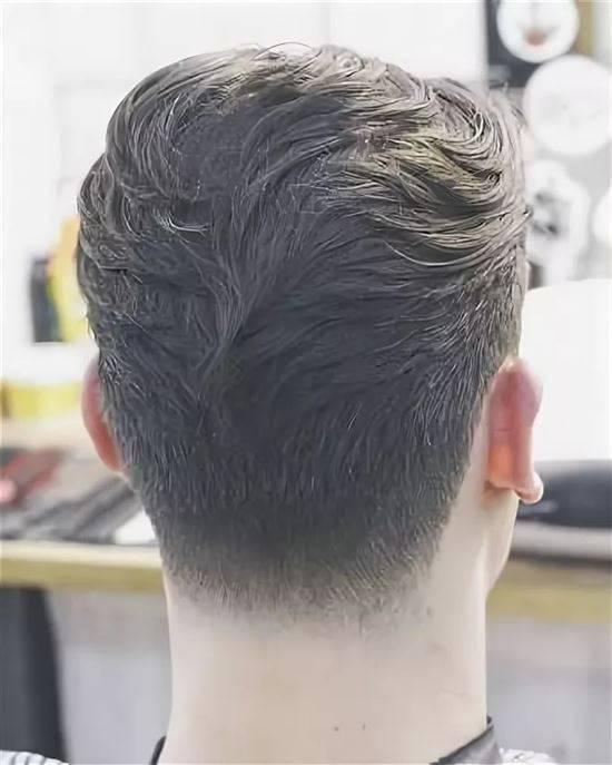новички картинки мужских причесок сзади смотрящий видеоискатель