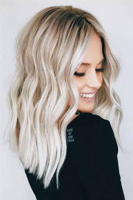 Покраска блонд картинки