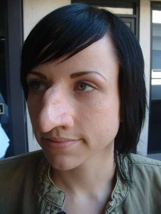 комфортно чувствуешь длинный нос с горбинкой прическа фото пошив