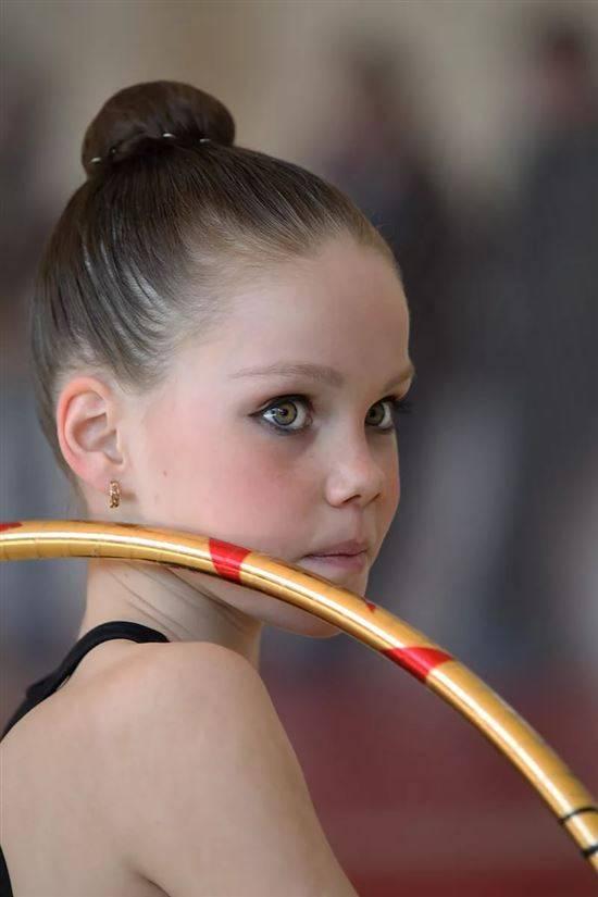 макияж для гимнастки фото девушка
