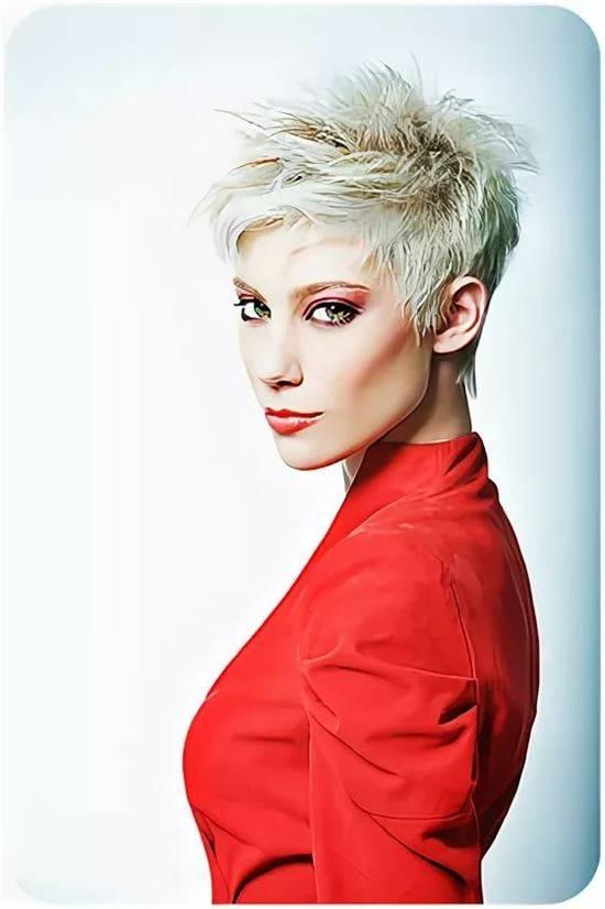 галерея стрижка москвичка фото женская красную