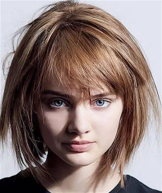 Стрижка дикарка на средние волосы фото возможность оригинально