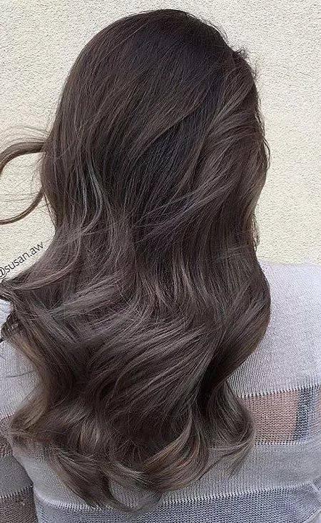 этим пепельно каштановый цвет волос фото переключения между спутниковой